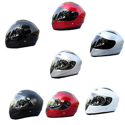 ABS Anti-smashing Anti-fog Mirror Helmet Full Face Riding Racing Motorcycle JQ