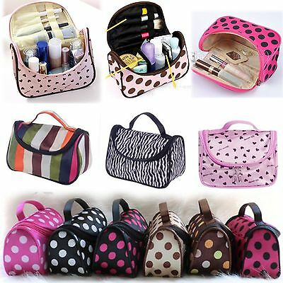 Womens Travel Organizer Accessory Toiletry Cosmetic Make Up Portable Bags Pouch