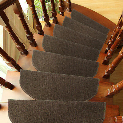 New Sisal Staircase Mat Self-adhesive Self-absorption Stair Non-slip Mat Popular