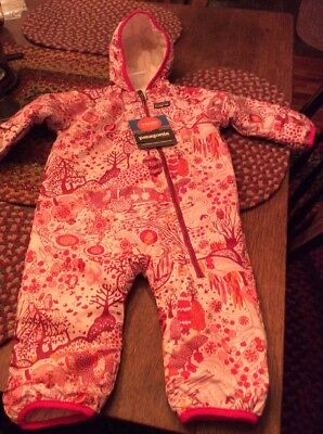 NWT Patagonia Baby Girls Snow Suit..size 12 Months
