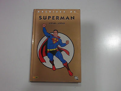 Superman  -  Archives   1958  - 1959   -  Comme  Neuf   -