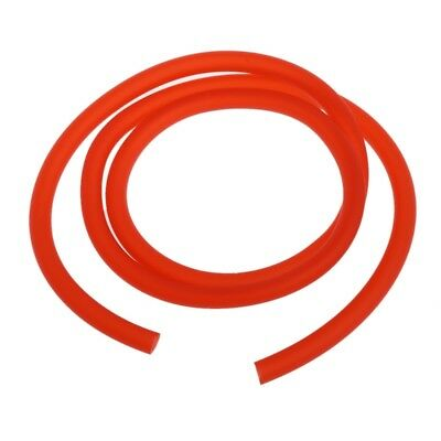 1m 5mm I/D 8mm O/D Motorcycle Petrol Fuel Hose Gas Oil Tube Line Pipe Red