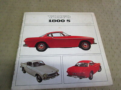 Catalogue Brochure Depliant Volvo 1800S/120/544        Langue Espagnol