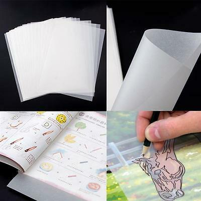 A4 Translucent Tracing Paper Craft Copying Calligraphy Artist Drawing 200 Sheet