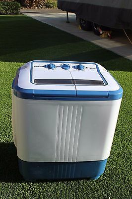 Companion Ezywash portable twin tub 2kg washing machine perfect for your caravan