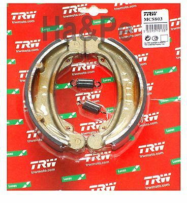 Honda XL 250 S 1978-82 TRW-Lucas Bremsbacken brake shoes vorne mit Feder MCS803