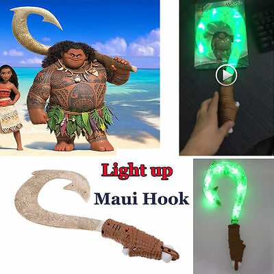 Maui light up sound fish hook moana exquisite toys for for Maui fish hook moana