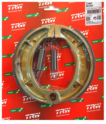 Yamaha XT 600 1983 - 87 TRW-Lucas Bremsbacken brake shoes hinten m Fed MCS955