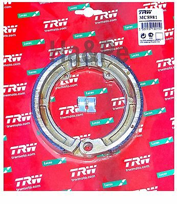 Piaggio APE 50 1999-03 TRW-Lucas Bremsbacken brake shoes vorne MCS981