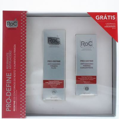 Roc Pro-Define Anti-Sagging Firming Fluid 40ml & Concentrate 50ml Gift Set