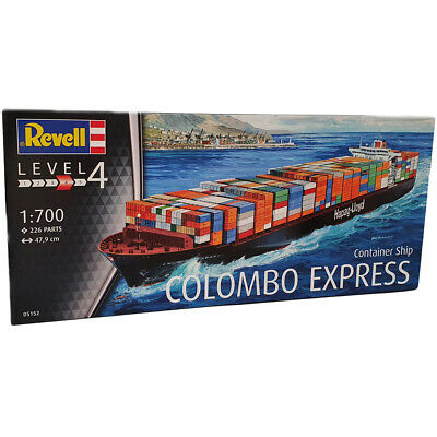 Revell Container Ship Colombo Express (Level 4) (Scale 1:700) NEW
