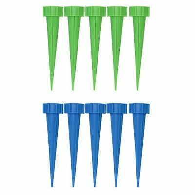 10Pcs Automatic Garden Cone Watering Spike Plant Flower Waterers Bottle Irr J5I7