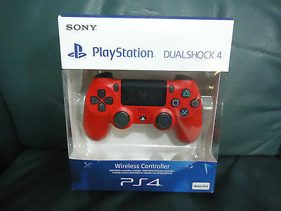PS4 Controller Dual Shock 4 Magma Red