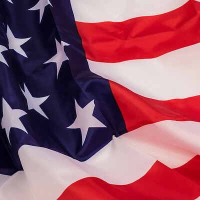 USA U.S American Flag Stripes Stars Polyester  3' X 5' FT Outdoor Indoor