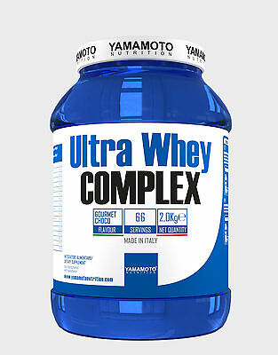 YAMAMOTO NUTRITION Ultra Whey Complex Proteine in polvere 2 Kg.