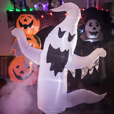 Inflatable Spooky Scary Halloween Light Up Party Decorations Pumpkin Ghost Ghoul