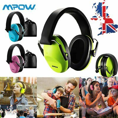 MPOW Kids Infant Children Ear Defenders NOISE FESTIVALS EAR MUFFS MUSIC SHOWS UK