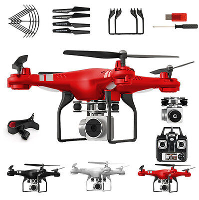Wide Angle Lens HD Kamera Quadrocopter RC Drone WiFi FPV Live Hubschrauber Hover