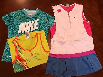 Lot Of 4 Girls Tennis Items Size M/L