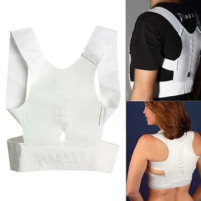 Support d'épaule Magnetic Therapy Posture Correcteur Body Back Ceinture Bra D3