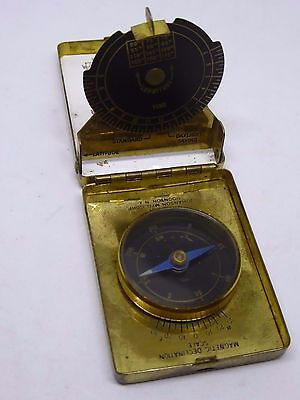 Vintage Travelling Sundial Compass - Boyd Sun Time Made by Johanson MFG Corp