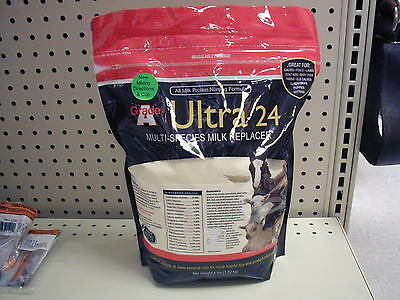Sav-A-Caf - Ultra 24 - Multi Species Milk replacer, Sheep, Goats, Calves,- 4lb.