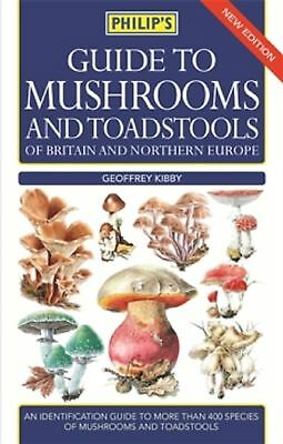 Guide to Mushrooms and Toadstools of Britain and Northern Europe, New Book