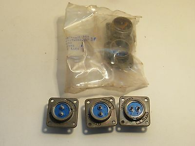 (Lot Of 5) Amphenol 97-3102A-16S 973102A16S Circular Connector New