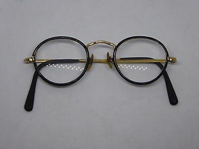 Pair of Vintage H Co. (20) Gold Plated and Faux Tortoiseshell Spectacles Glasses