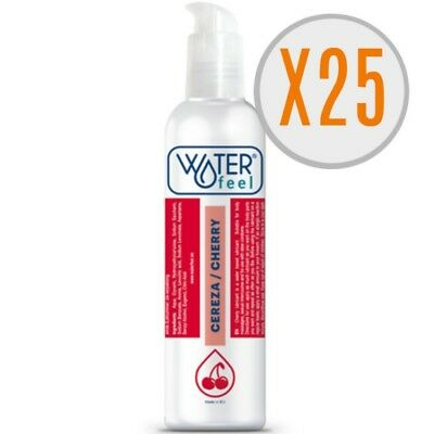 X) Waterfeel Lubricante Cereza 150Ml Pack 25 Uds