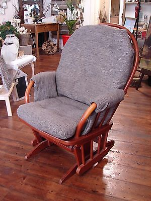 Dutailier Lockable Glider Nursing Feeding Chair Sliding Rocking Southampton