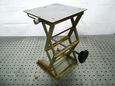 "H142317 Laboratory Jack (7 7/8""x7 7/8"" Platform) ""Made In USA"""
