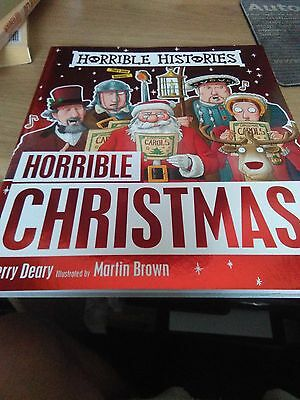 Horrible Histories Horrible Christmas book Terry Deary