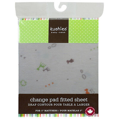 """Kushies Fitted Change Pad for 2.5cm (1"""") Mattress"""