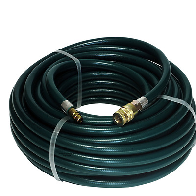 """Rpb 100' Breathing Air Supply Hose W/ 1/2"""" Quick Release Fittings #407036"""