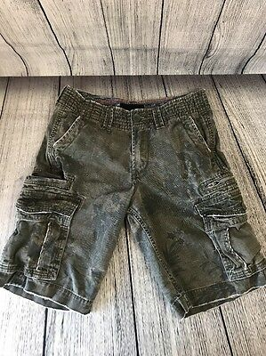 Hurley Shorts Camouflage Cargo Men's Size 28 Distressed
