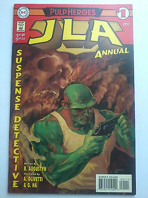 JLA ANNUAL #1, DC Comics 1997, Near Mint - NM- (Justice League)