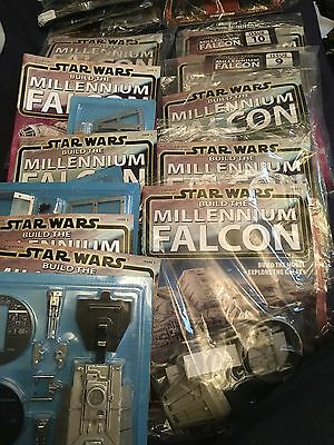 STAR WARS DEAGOSTINI BUILD THE MILLENNIUM FALCON ISSUES 1 To 10