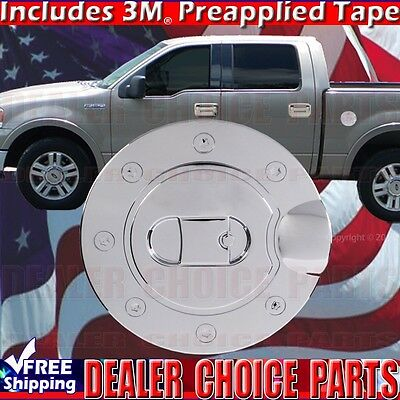 04-14 FORD F150 F-150 Triple Chrome Overlay Trim ABS Tailgate Handle Cover