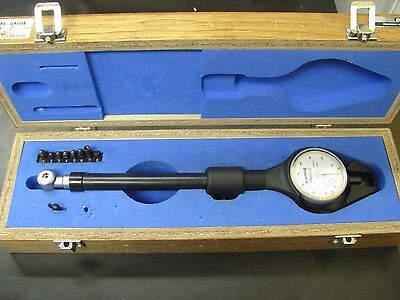 "Fowler/Bowers 7/8-2""""/.0001"" Dial Bore Gage Set w/ case - FO19"
