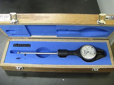 "Fowler/Bowers 1/2""-7/8""/.0001"" Dial Bore Gage Set w/ case - FO21"