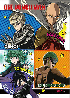 24x36 ONE PUNCH MAN POSTER Chibi Anime Poster