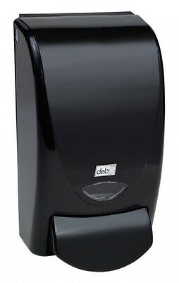 DEB91128 - Deb 91128 Black Curve 1 Ltr Soap/Sanitizer Dispenser