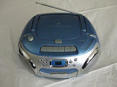 Emerson PD6548BL CD-R/RW Player with AM/FM Stereo Radio/Cassette Rec
