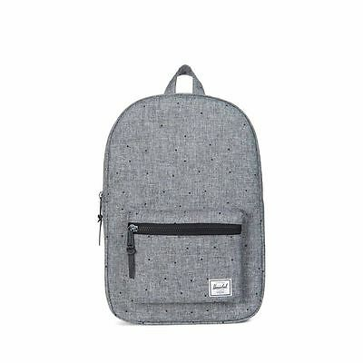 eab0323b9d9 Herschel Supply Co. Settlement Mid-Volume Backpack in Scattered Raven  Crosshatch