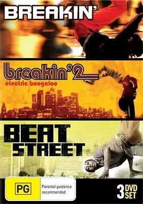 Breakin' Collection (DVD, 2010, 3-DvD Set Region 4 ) NEW & Sealed RARE