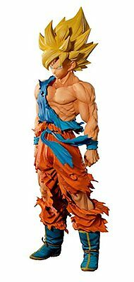 Banpresto Dragon Ball Z Super Saiyan Goku Master Stars Piece Supreme figure