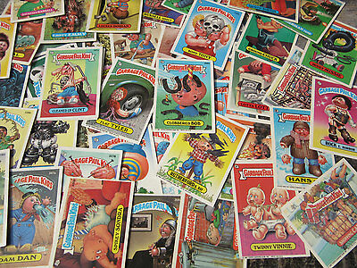 55 Garbage Pail Kids Sticker Cards 1986-1987 Original Series Vintage
