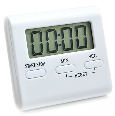 Multifunction LCD Kitchen Cooking Timer Count-Down Loud Alarm Magnetic. 046