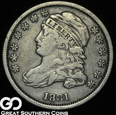 1831 Capped Bust Dime ** Free Shipping!